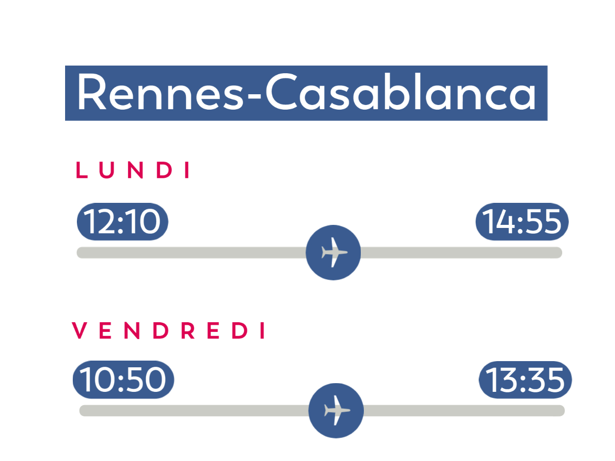Horaires_Rennes-Casblanca