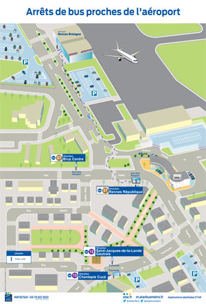 plan-acces-rennes-aeroport-bus-reseau-star-2016