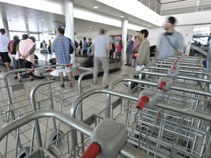 rennes-airport-luggage-trolley