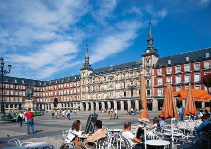 rennes-madrid-direct-flight