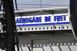 Fret platform Rennes Bretagne Airport