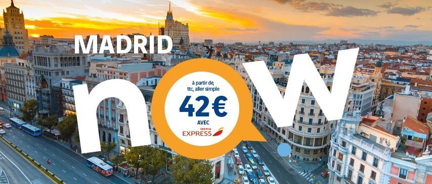 madrid-espagne-billet-avion-depart-aeroport-rennes